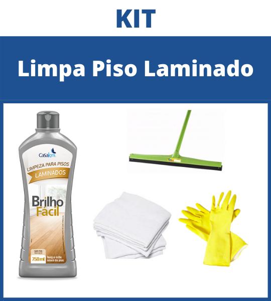 Kit Limpa Piso Laminado