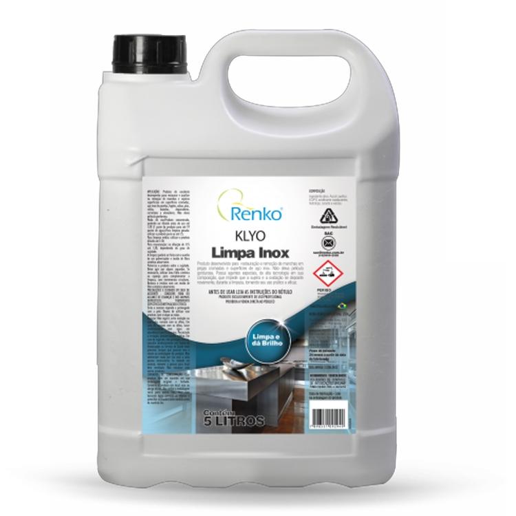 Klyo Limpa Inox - 5 Litros