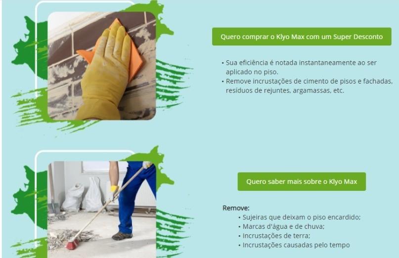 Limpa Pedra São Tomé e Portuguesa Klyo Max 5l