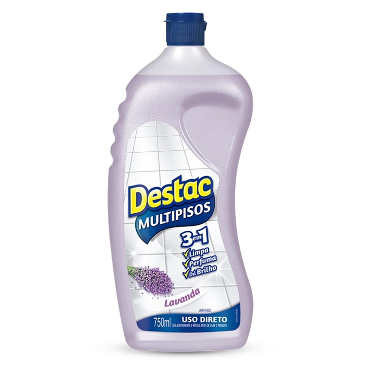 Limpador Destac Multipisos 750ml