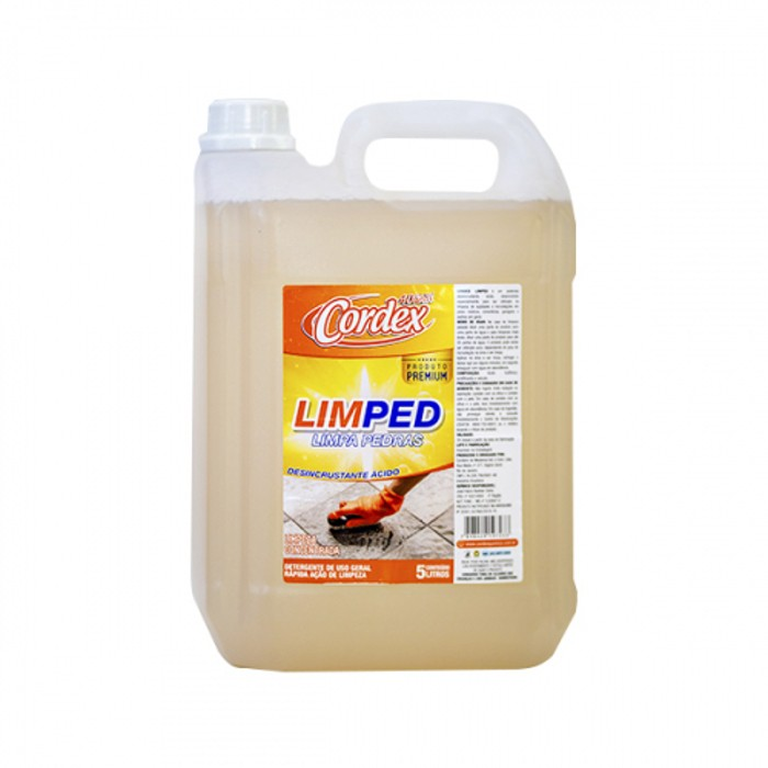 Limped - Limpa Pedras - Pós Obra -Desincrustante Ácido 5L