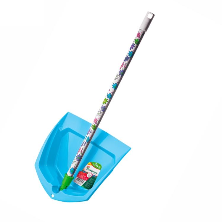 Pá de Lixo Cabo Longo Articulada - Primavera