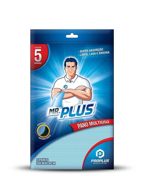 Pano Multiuso Azul Mr Plus c/5