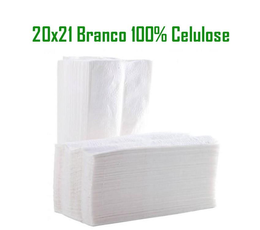 Papel Toalha Interfolhado Branco 100% Celulose com 700 folhas