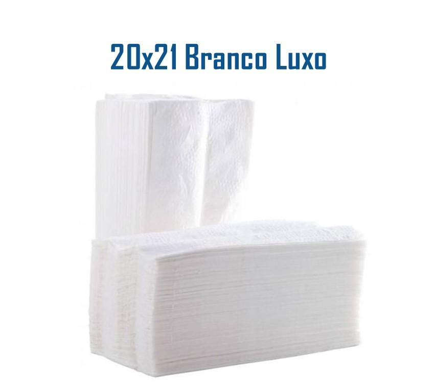 Papel Toalha Interfolhado Branco Luxo c/700