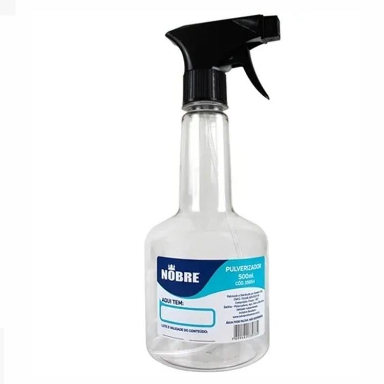 Pulverizador Transparente Nobre 500 ml