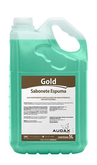 Sabonete Espuma - Audax Gold - 5L