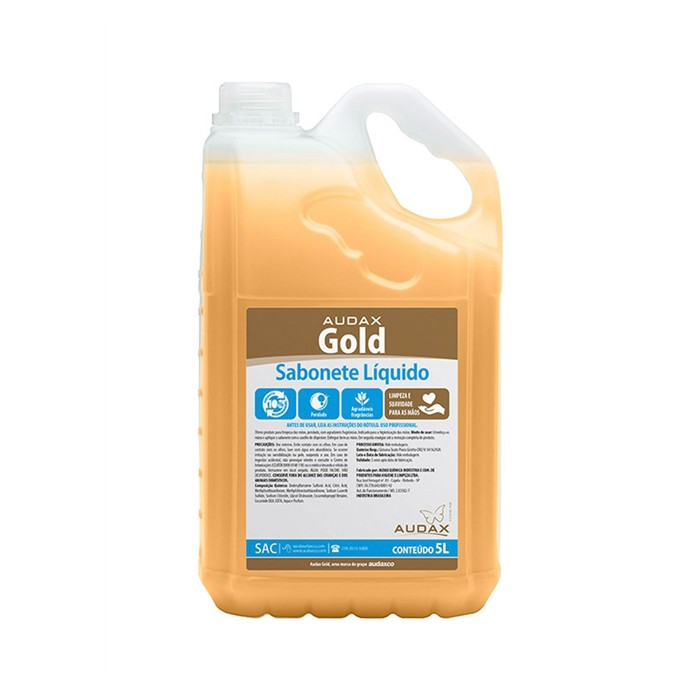 Sabonete Líquido - Audax Gold - 5L