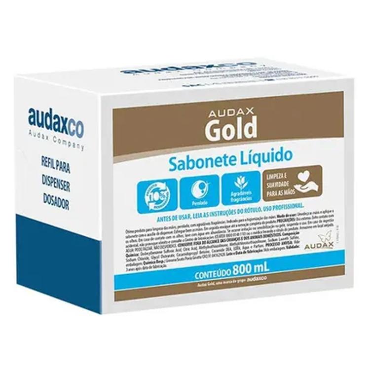 Sabonete Líquido - Audax Gold - 800ml