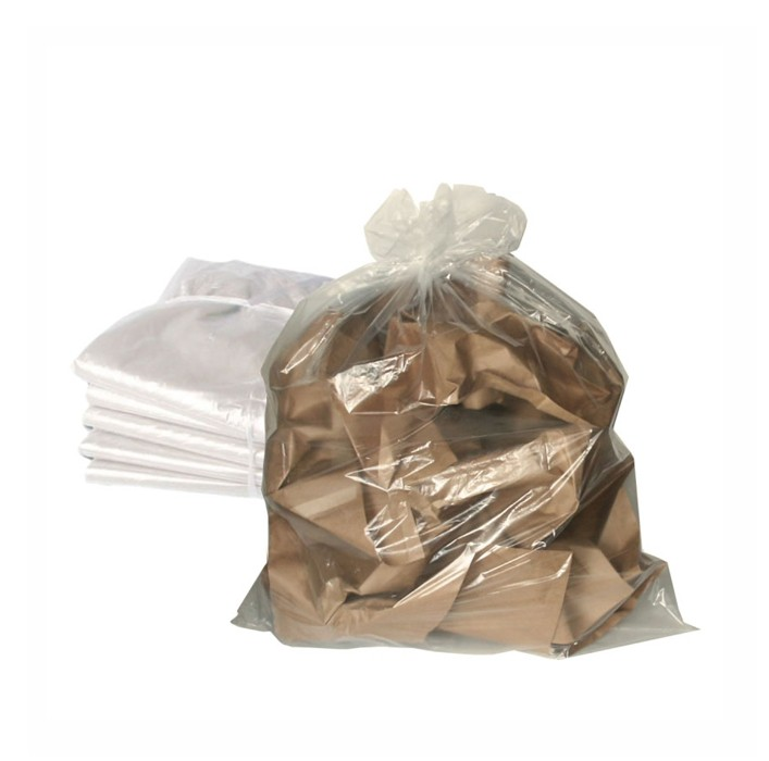 Saco de Lixo Transparente - 100 Litros -