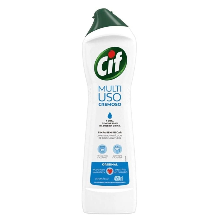 Sapóleo Cremoso Cif - 450ml