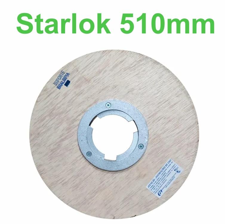 Starlok com Flange para Enceradeira - Bralimpia - 510mm