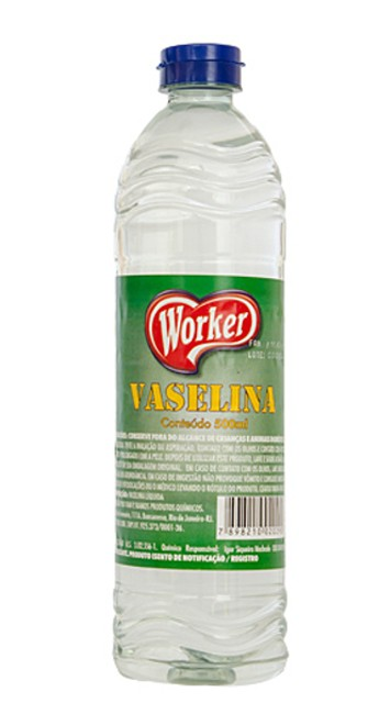Vaselina Líquida Worker - 500ml