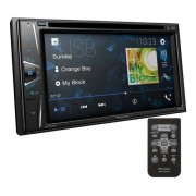 Central Multimídia Dvd Pioneer 2 Din Bluetooth Usb Touch 6,2