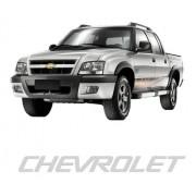 Emblema Adesivo Chevrolet S10 Prata