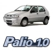 Emblema Adesivo Resinado Fiat Palio 1.0