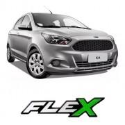 Emblema Adesivo Resinado Ford Flex