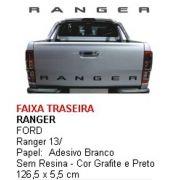 Faixa Tampa Traseira Ranger 2013 2014 2015 2016 2017 2018 2019 2020