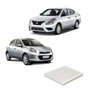 Filtro De Ar Condicionado Nissan March Versa Flex 2011