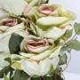 Buquê de Rosas Verdes Permanente 45cm