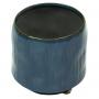 Cachepot de Cerâmica Artesanal Azul Senne 11x11cm