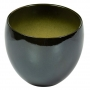 Cachepot de Cerâmica Chumbo Holandês Lorance 15x13cm