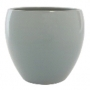 Cachepot de Cerâmica Cinza Imke 15x13cm