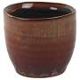 Cachepot de Cerâmica Vermelho Lara 7x7cm