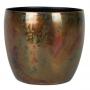 Cachepot de Metal Artesanal Cobre Sky Burn Indiano Kody 17x15cm