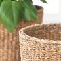Cesto de Seagrass Artesanal Natural Ido 25x25cm