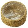 Cesto de Seagrass Artesanal Natural Ido 28x13cm