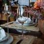 Jogo de 6 Taças de Cristal p/Vinho Transparente 21cm 450ml
