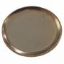 Prato de Cerâmica Dourado Liv 27x3cm