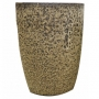 Vaso de Cerâmica Amarelo e Preto Liv 35x51cm