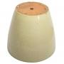 Vaso de Cerâmica Creme Yara 27x25cm