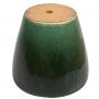 Vaso de Cerâmica Verde Yara 35x34cm