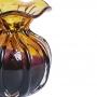Vaso de Cristal Murano Trouxinha Ametista 12x12cm