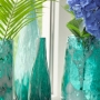 Vaso de Vidro Artesanal Liz 18x30cm