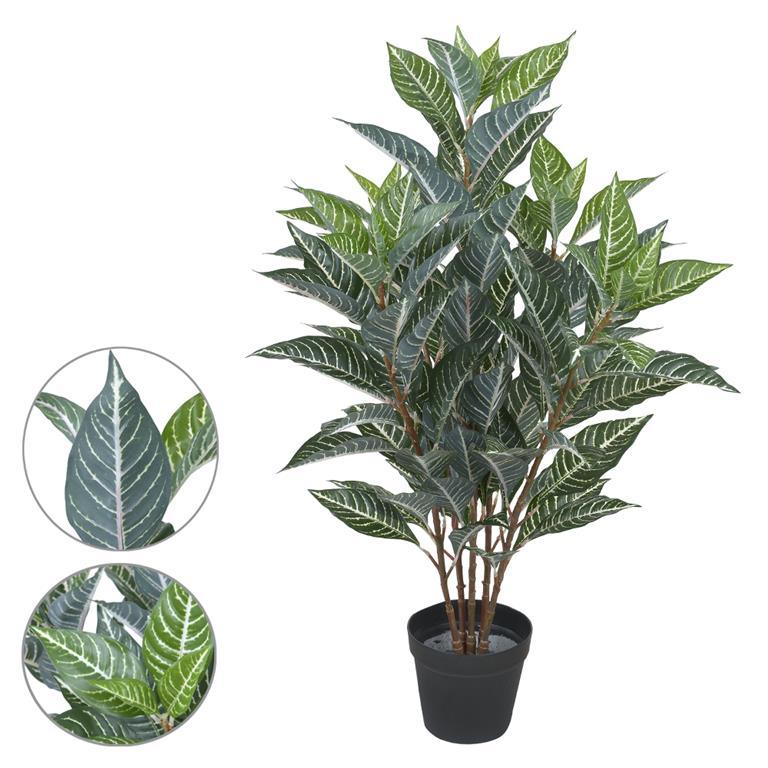 Afelandra c/ Pote Verde Claro Permanente 85cm