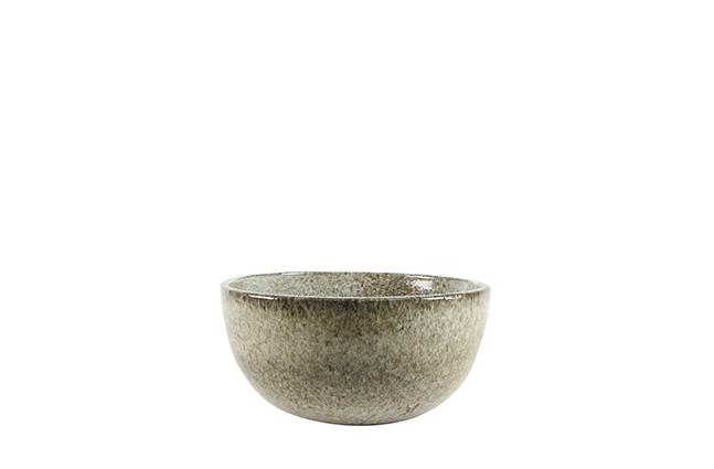 Bacia de Cerâmica Areia Rico 24x13cm