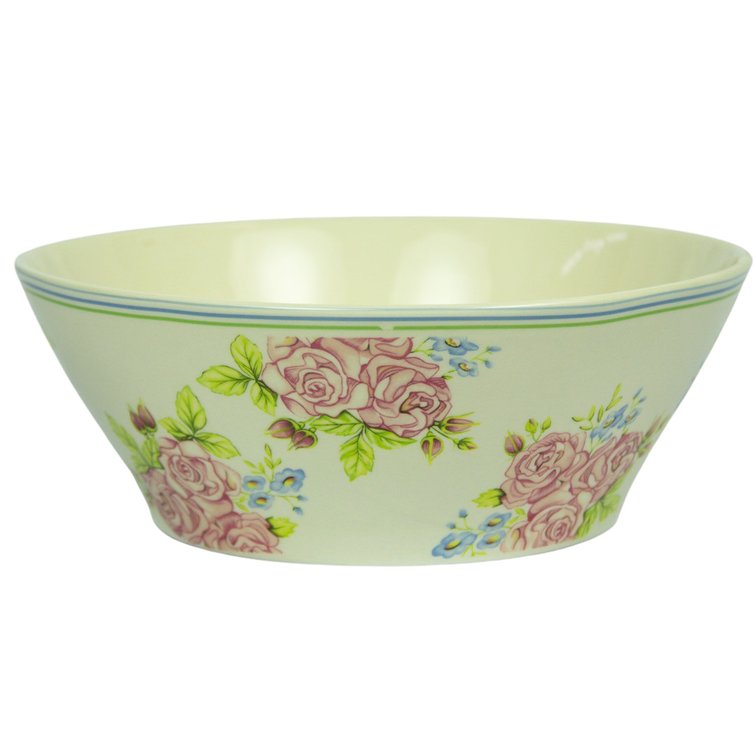 Bacia de Salada de Cerâmica Zarah 28x10cm