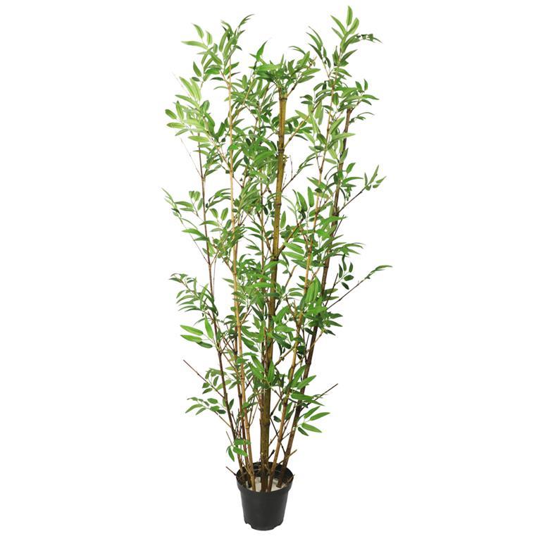 Bambu com Folhas Permanentes c/Pote 120cm