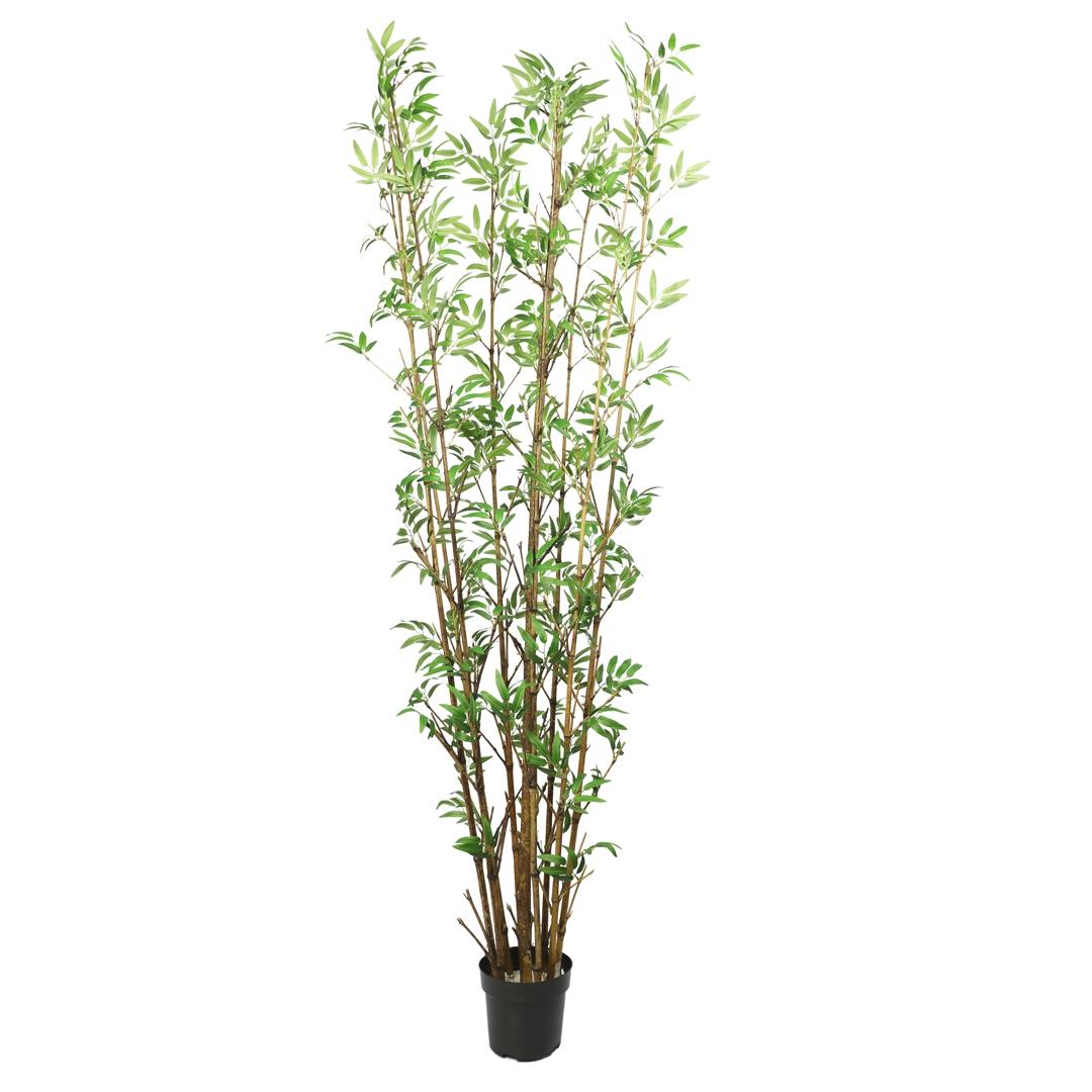 Bambu com Folhas Permanentes c/Pote 175cm