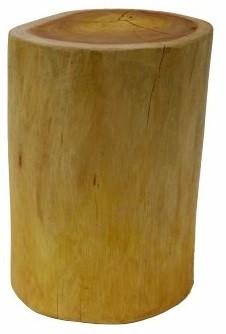 Banquinho de madeira  maciça (Cil) -  30cm x 40cm Cor: madeira