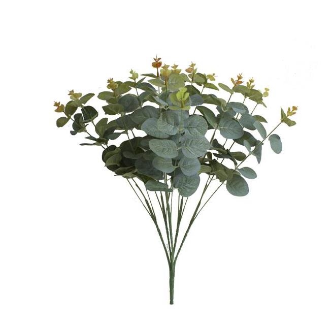 Folhagem de Eucalipto Verde Permanente 55cm