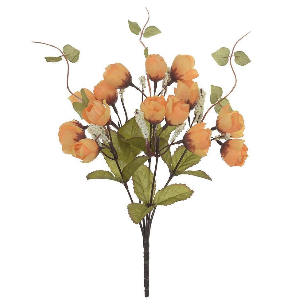 Buquê de Rosas Amarelas Permanentes 33cm