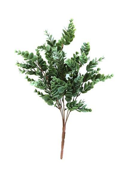 Folhagem de Eucalipto Verde Escuro Permanente 45cm