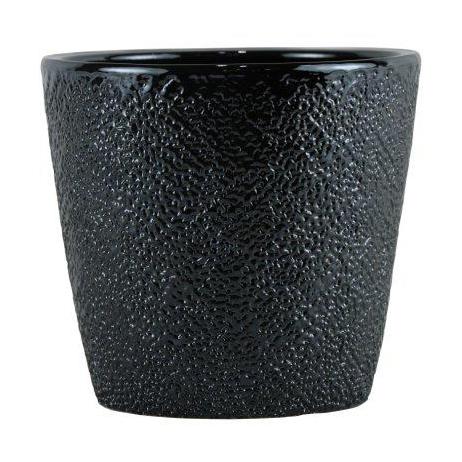Cachepot de Cerâmica Chumbo Senegal 14x14cm