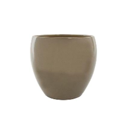 Cachepot de Cerâmica Areia Imke 15x13cm