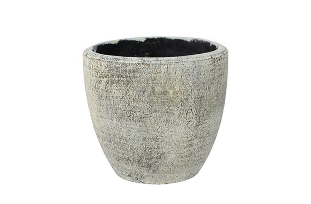 Cachepot de Cimento Artesanal Anne 16x15cm